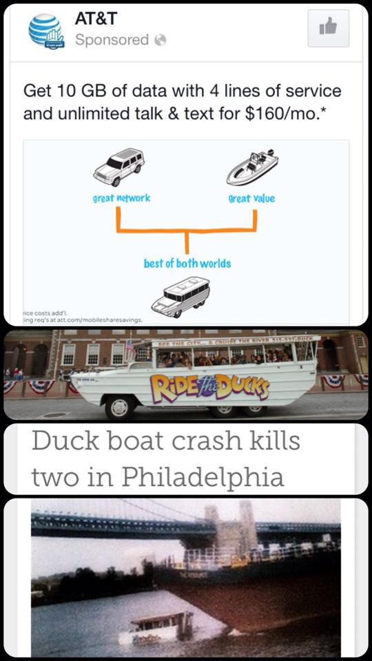 Duck Boat AT&T
